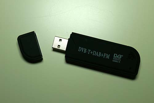 A Software-Defined Radio (SDR) dongle
